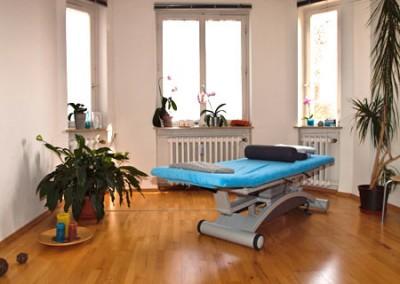 Therapieraum Physio Kugler Müllheim